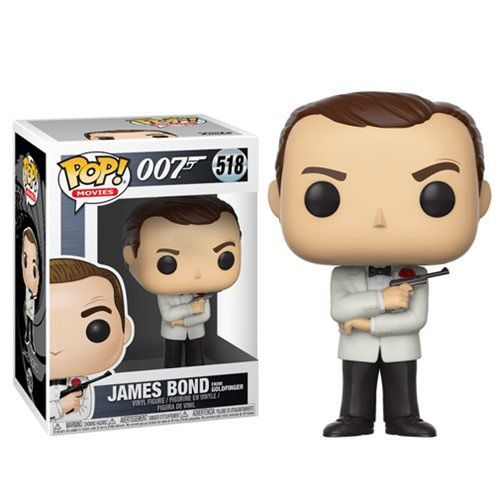 Funko POP! James Bond Sean Connery White Tux