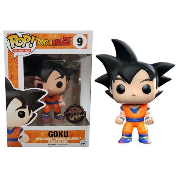 Funko POP! Dragon Ball Z Black Hair Goku Exclusive
