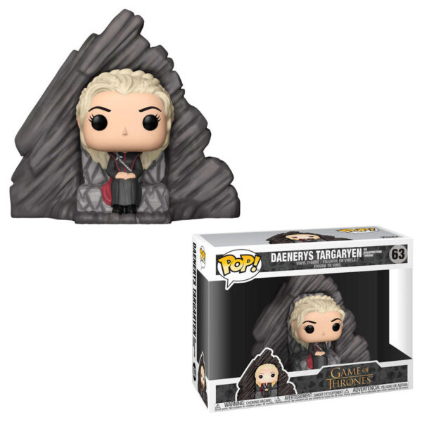 Funko POP! Game of Thrones Daenerys on Dragonstone Throne