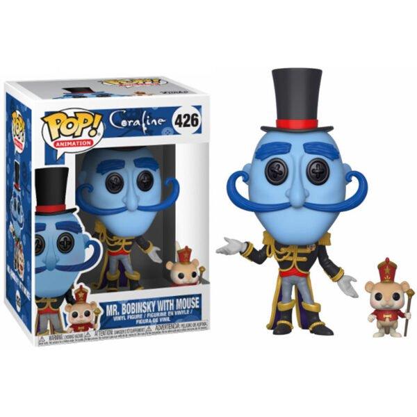 Funko POP! Coraline Mr. Bobinsky with Mouse