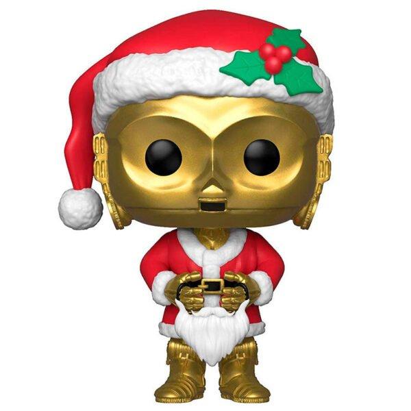 Funko POP! Star Wars Holiday C-3PO as Santa