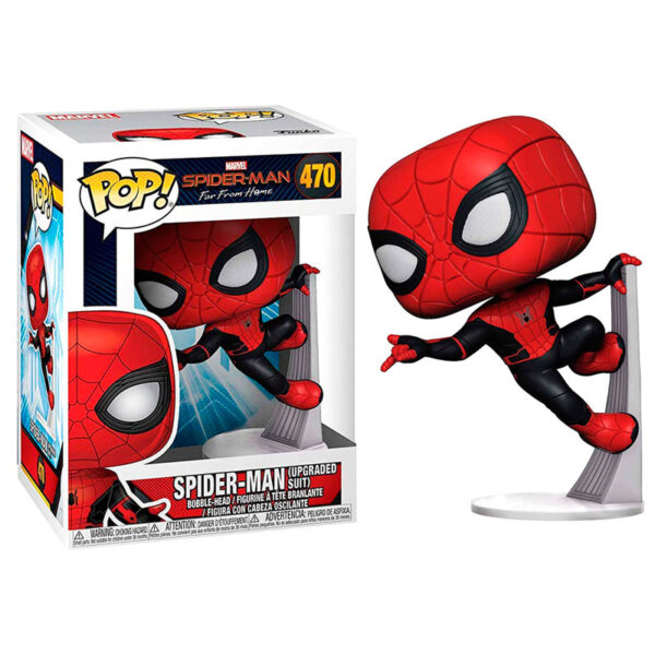 Funko POP! Marvel Spiderman Far From Home Spiderman Upgraded Suit