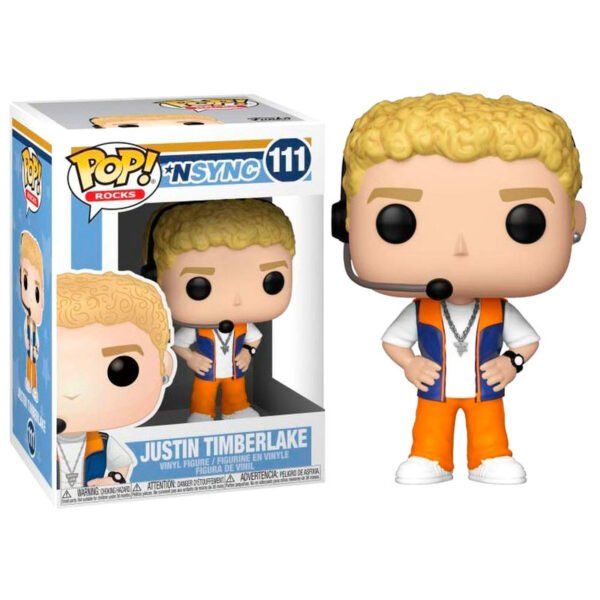 Funko POP! NSYNC Justin Timberlake