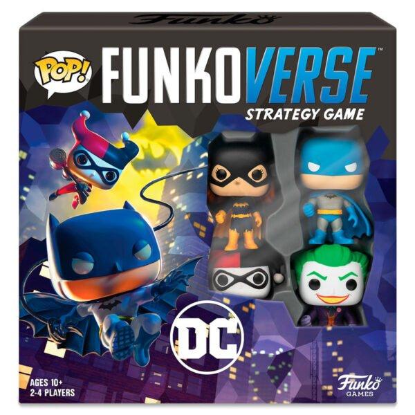 Juego mesa Funkoverse DC Comics · 4 figuras · Español