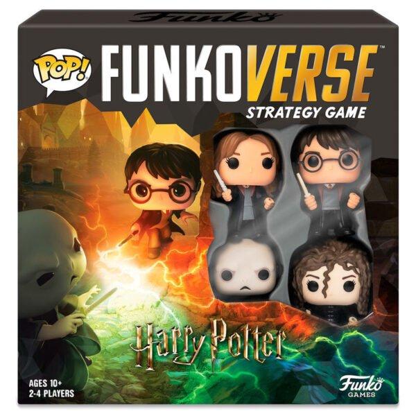 Juego mesa Funkoverse Harry Potter · 4 figuras · Español
