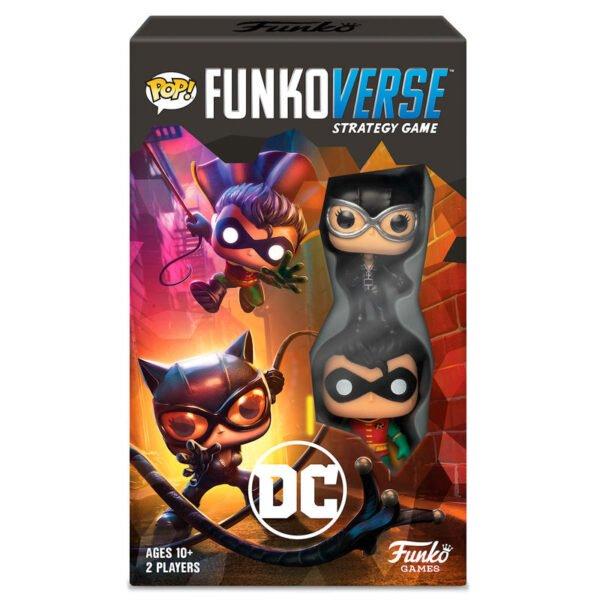 Juego mesa Funkoverse DC Comics · 2 figuras · Español