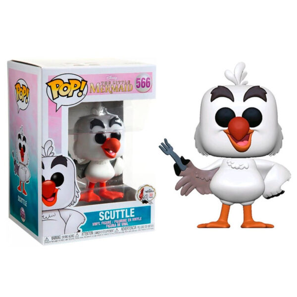 Funko POP! Disney La Sirenita Scuttle wtih Fork