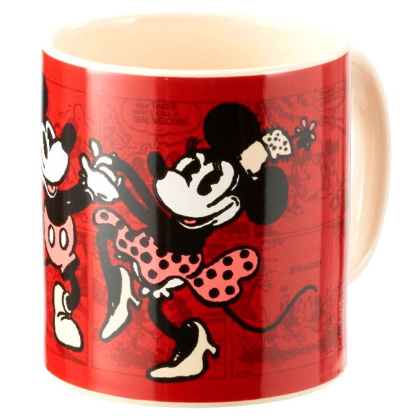 Taza Mickey & Minnie Comic Disney