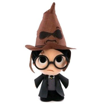 Peluche Harry Potter with sorting hat 15cm