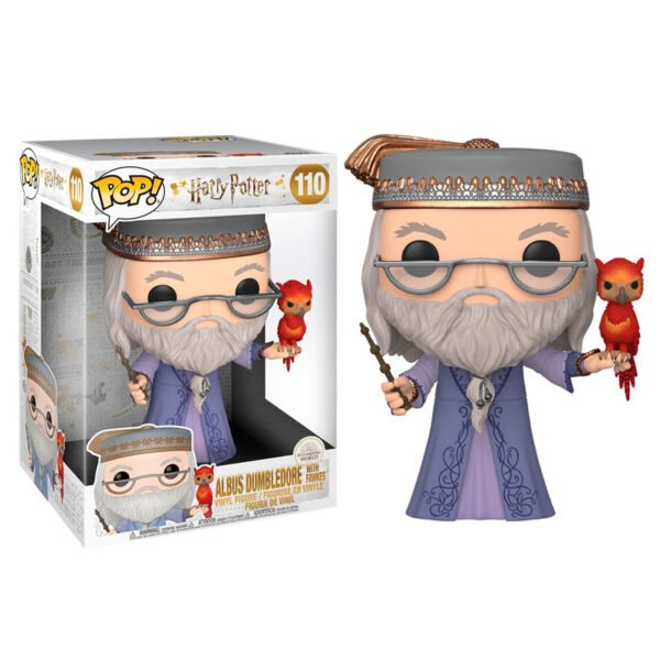 Funko POP! Harry Potter Dumbledore with Fawkes 25cm