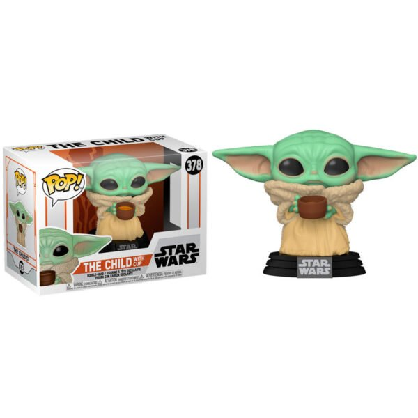 Funko POP The Child with Cup – Star Wars Mandalorian