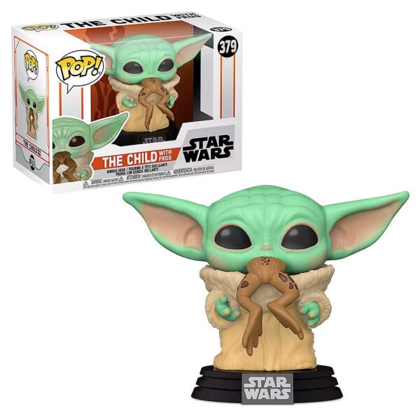 Funko POP The Child with Frog – Star Wars Mandalorian