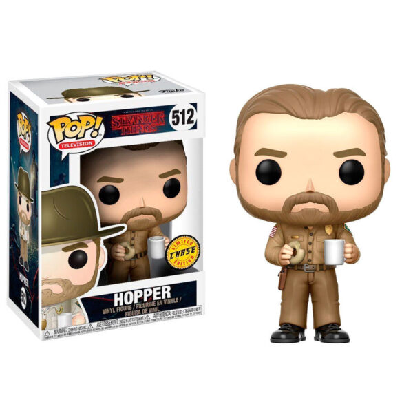 Funko POP! Stranger Things Hopper Chase