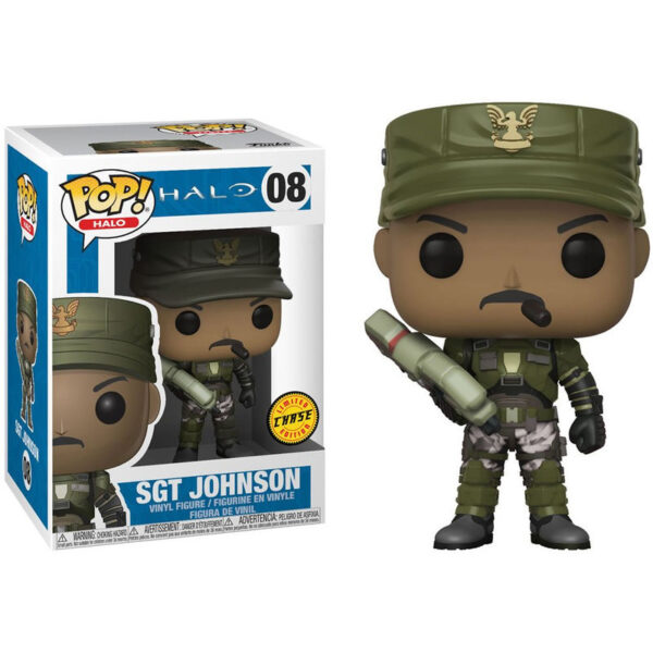 Funko POP! Halo Sgt. Johnson Chase