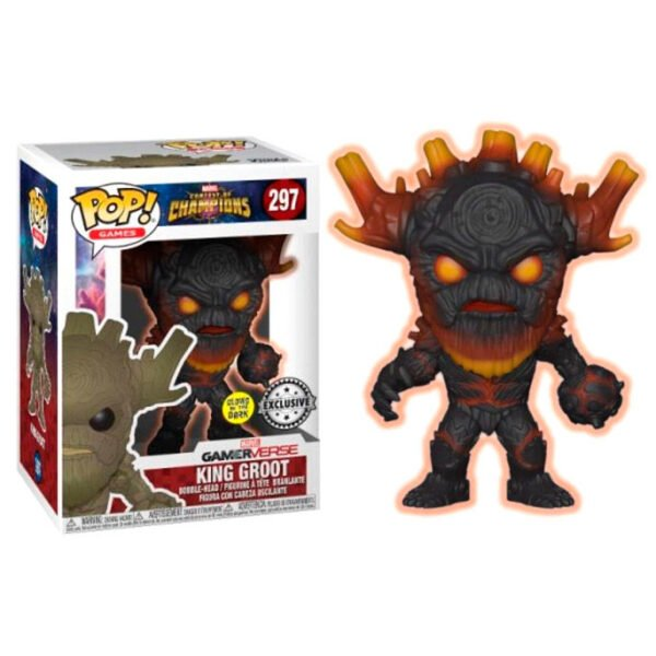 Funko POP! Marvel Contest of Champions King Groot Exclusive