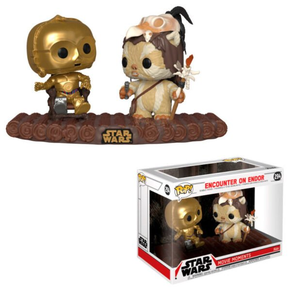 Funko POP! Star Wars C-3PO on Throne