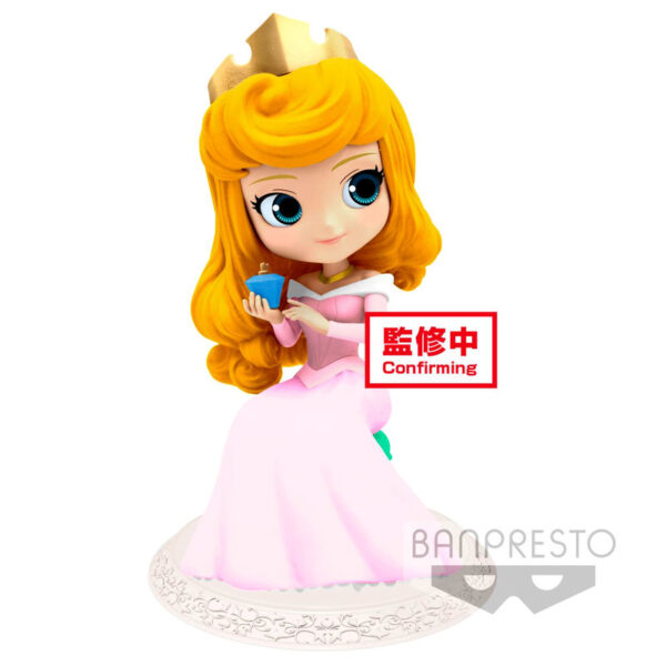 Princesa Aurora Disney Character Q posket perfumagic B 12cm