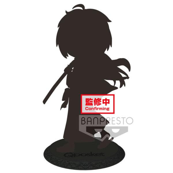 Kenshin Himura Rurouni Kenshin Meiji Swordsman Romantic Story Q Posket B 14cm