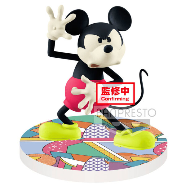 Mickey Mouse Disney Touch Japonism Q Posket A 10cm