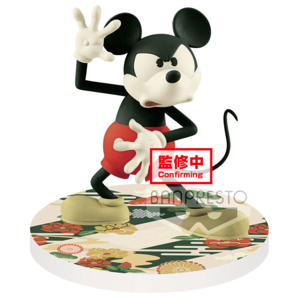 Mickey Mouse Disney Touch Japonism Q Posket B 10cm