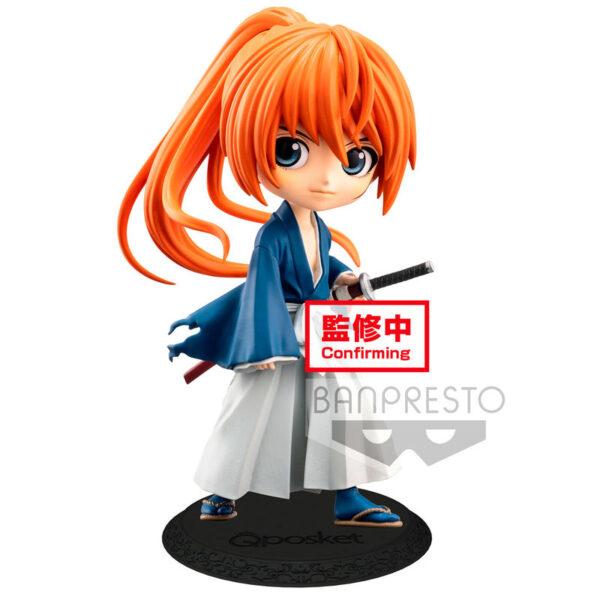 Battousai Himura Rurouni Kenshin Meiji Swordsman Romantic Story Q Posket A 14cm