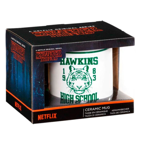 Taza Hawkins High School Stranger Things