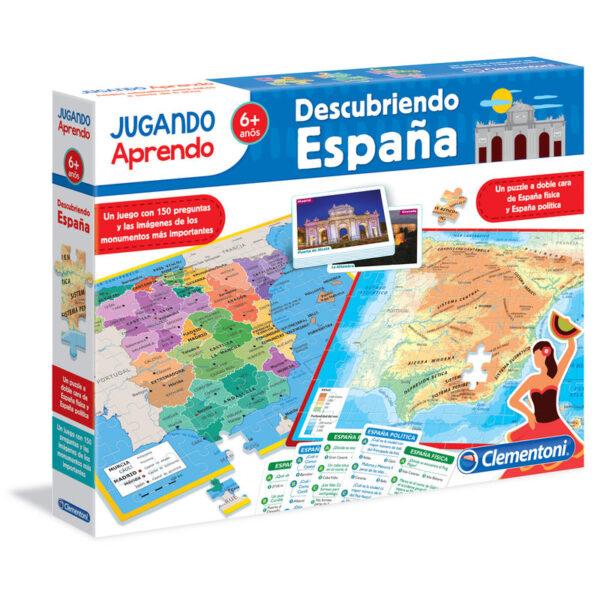 Juego puzzle Mapa Geo descubre España