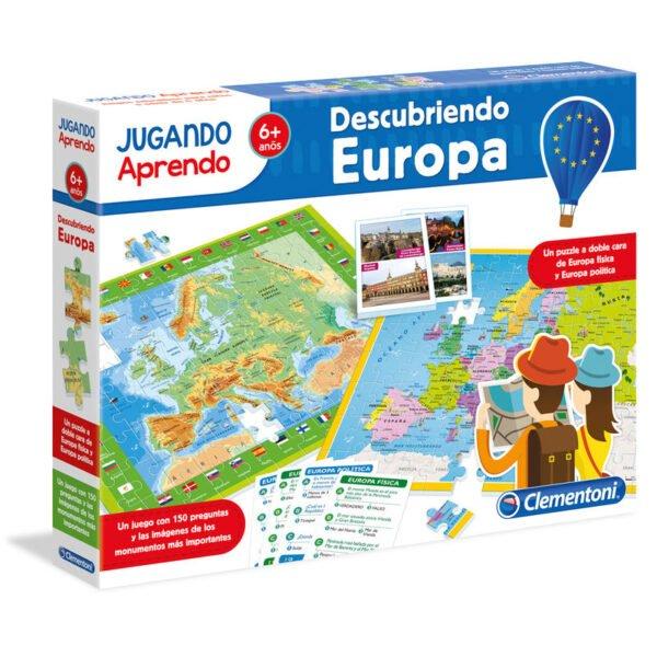 Juego puzzle Mapa Geo descubre Europa