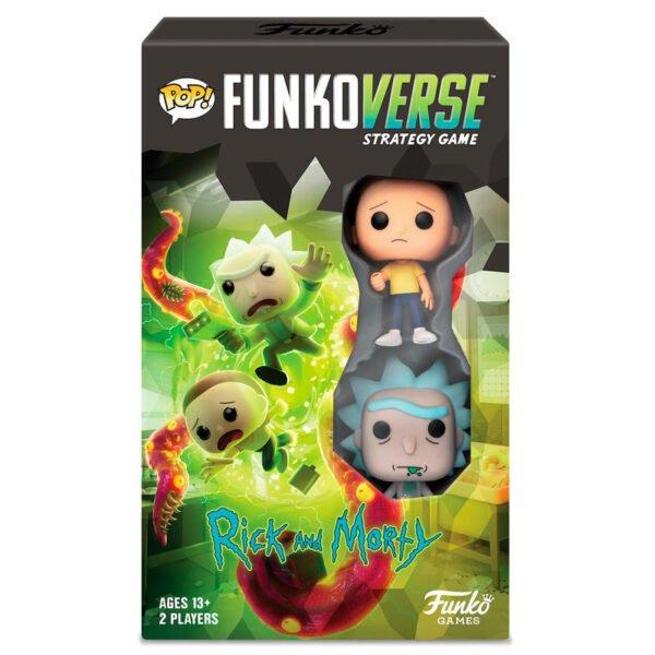 Juego mesa POP Funkoverse Rick & Morty · 2 figuras · Español