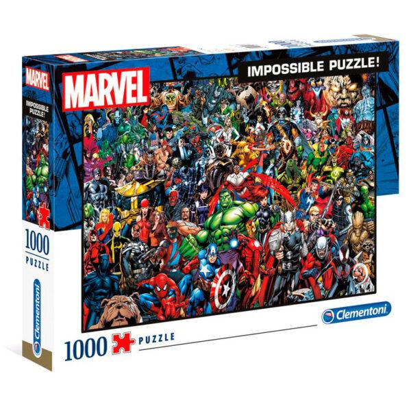 Puzzle Marvel Imposible de 1000 piezas