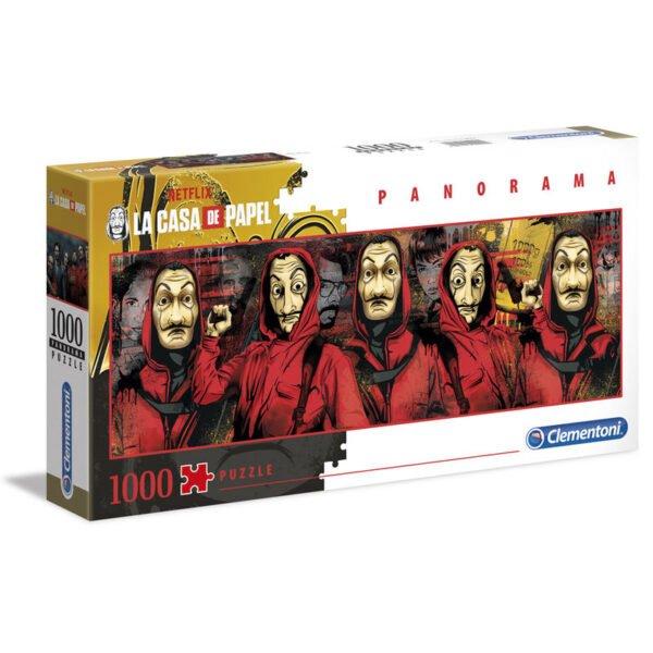 Puzzle Panorama La Casa de Papel 1000pz