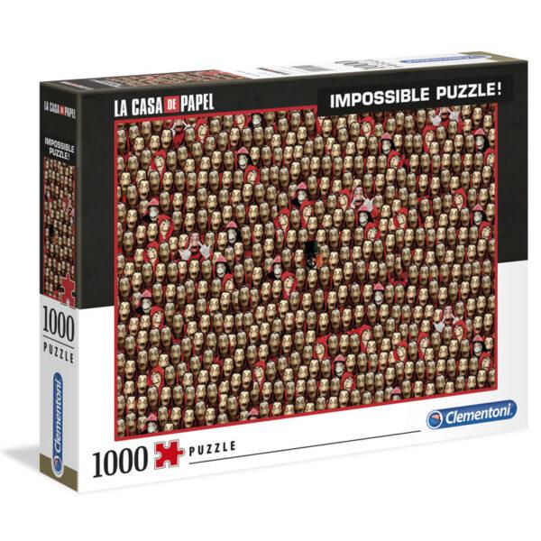 Puzzle Imposible La Casa de Papel 1000pz