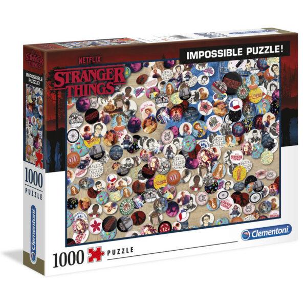 Puzzle Imposible Chapas Stranger Things 1000pcs