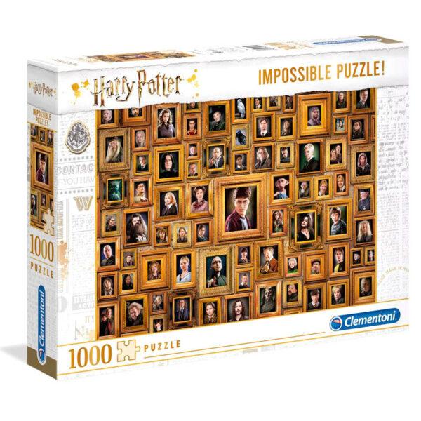 Puzzle Imposible Retratos Harry Potter 1000pz