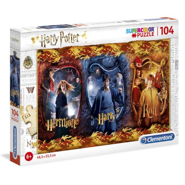 Puzzle Harry, Ron y Hermione Harry Potter 104pz