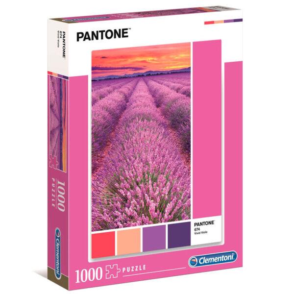 Puzzle Vivid Viola Pantone 1000pzs