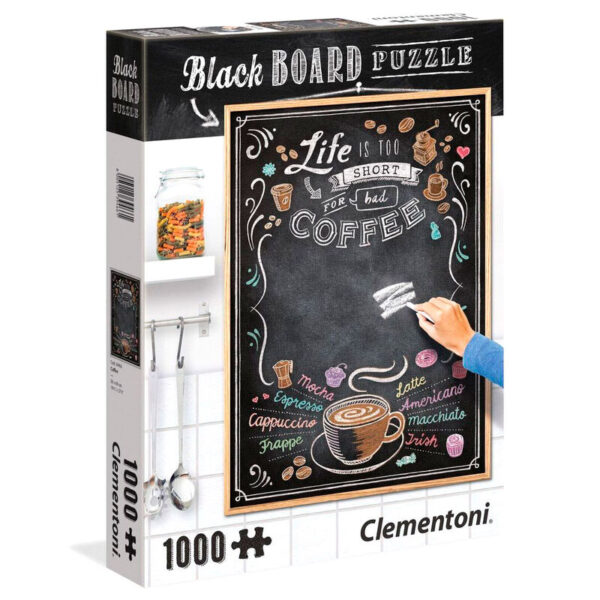Puzzle Think Outside the Box Black Board 1000pzs