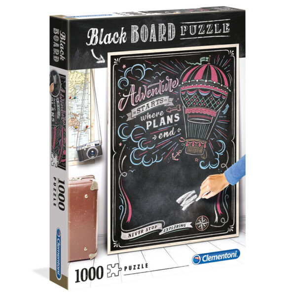 Puzzle Travel Black Board 1000pzs