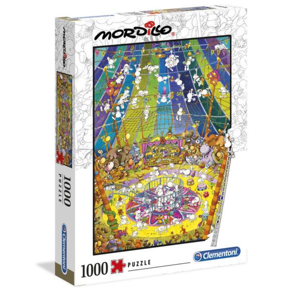 Puzzle High Quality The Show Mordillo 1000pzs