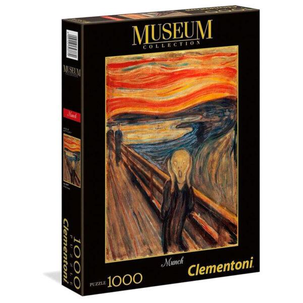 Puzzle El Grito Munch Museum Collection 1000pzs