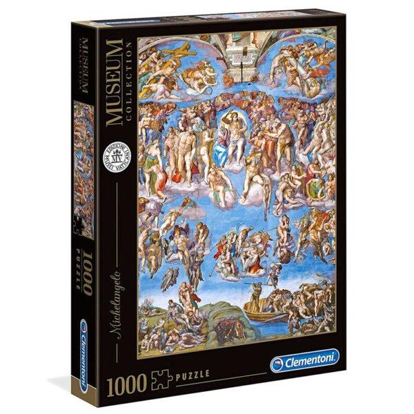 Puzzle El Juicio Final Michelangelo Museo Vaticano 1000pzs