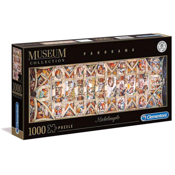 Puzzle Boveda Capilla Sixtina Michelangelo Museo Vaticano 1000pzs