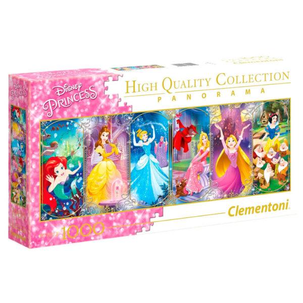Puzzle Panorama Princesas Disney 1000pzs