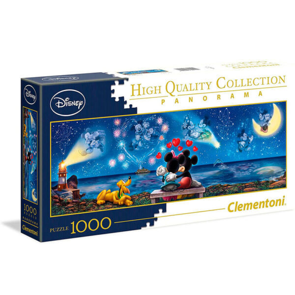 Puzzle Panorama Mickey and Minnie Disney 1000pzs