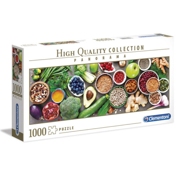 Puzzle Panorama High Quality Healthy Veggie 1000pzs