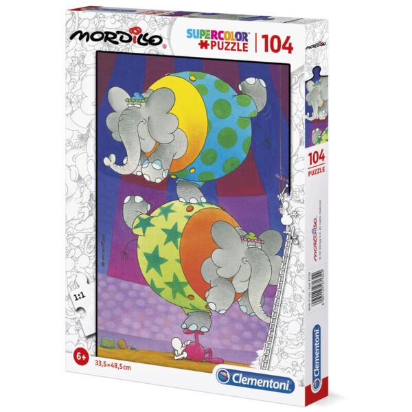Puzzle The Balance Mordillo 104pzs