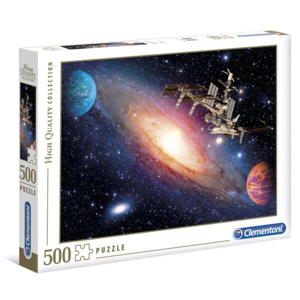 Puzzle High Quality International Space Station 500pzs
