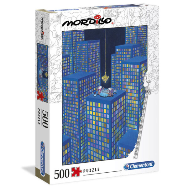 Puzzle High Quality The Dinner Mordillo 500pzs