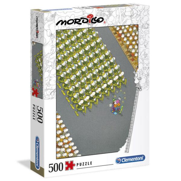 Puzzle High Quality The March Mordillo 500pzs