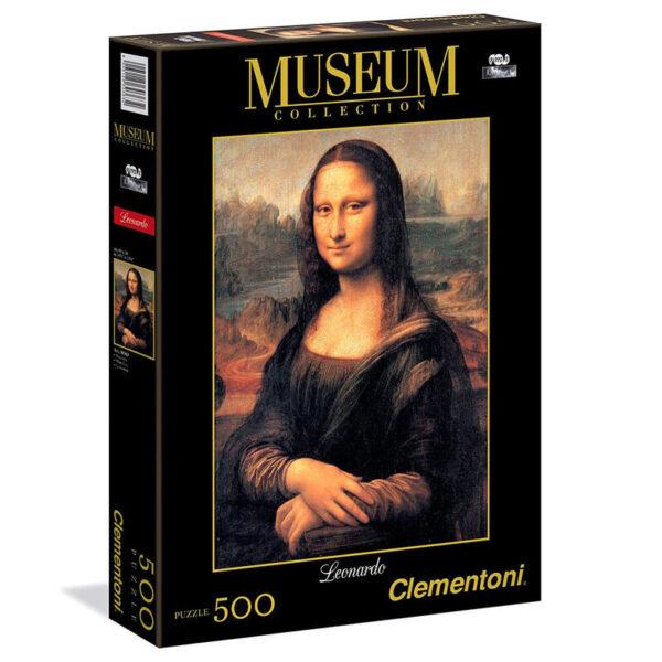 Puzzle Mona Lisa Leonardo Museum Collection 500pz